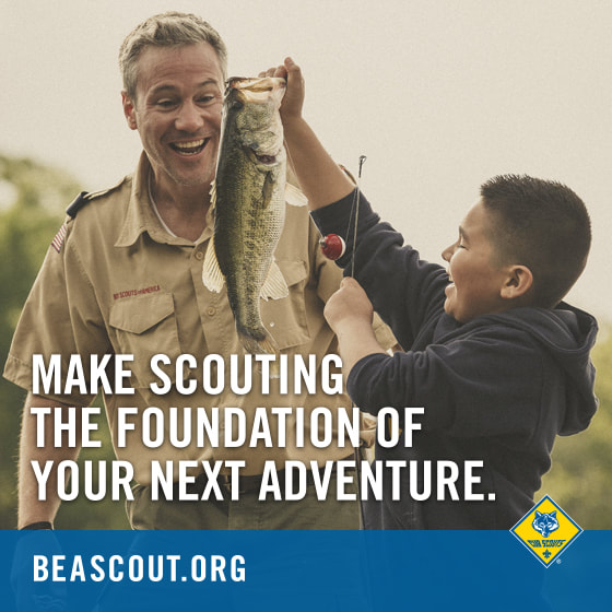 Make Scouting the Foundation of your next adventure - Join Scouting